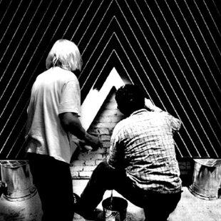 Franck Stella's studio 1963