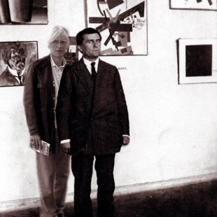 With Malevich in Moscow, 1015