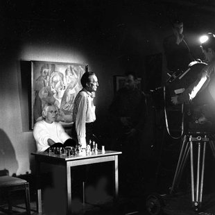 Marcel Duchamp After our game of chess NY 1963