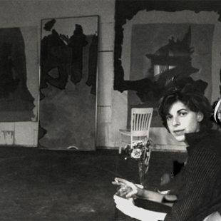 Helen Frankenthaler studio NY 1965