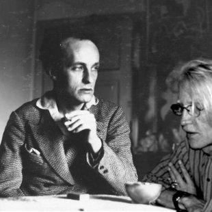 With Władysław Strzemiński Warsow 1932