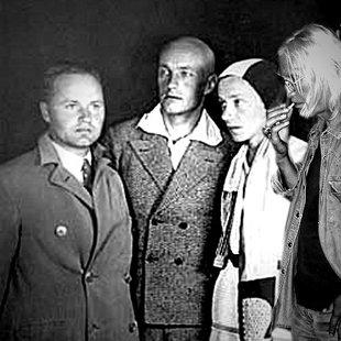 With Julian Przyboś, Władysław Strzemiński, Katarzyna Kobro, Warsow 1930